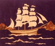 Application : le bateau Images libres de droits