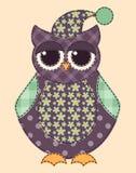 Application owl 3 Royalty Free Stock Photos