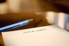Application paper Royalty Free Stock Photography