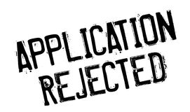 Application Rejected rubber stamp Stock Images