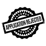 Application Rejected rubber stamp Stock Photos