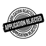 Application Rejected rubber stamp Royalty Free Stock Image
