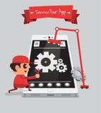 Application Service Royalty Free Stock Photos
