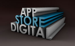 Application Store Royalty Free Stock Image