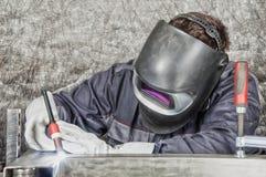 applicator εργαστήριο καρφιών καρφιών μετάλλων πυροβόλων όπλων Στοκ Εικόνες