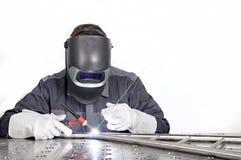 applicator εργαστήριο καρφιών καρφιών μετάλλων πυροβόλων όπλων Στοκ Εικόνα