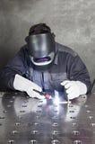 applicator εργαστήριο καρφιών καρφιών μετάλλων πυροβόλων όπλων Στοκ Φωτογραφία