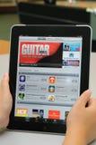 applicazione dei iTunes sul iPad del Apple Fotografia Stock Libera da Diritti