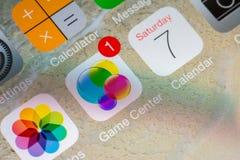 Applicazione del centro del gioco Fotografie Stock