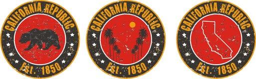 Applicazione della maglietta di amore di California Fotografia Stock Libera da Diritti