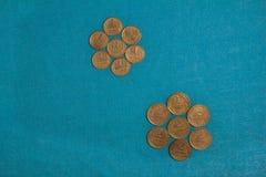 Applicazione delle monete Fotografie Stock Libere da Diritti