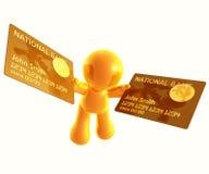Applicazione in linea della carta di credito royalty illustrazione gratis