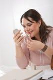 applicera executive barn för läppstiftkontorskvinna Royaltyfria Foton