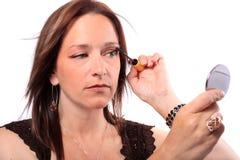 applicera mascarakvinnan fotografering för bildbyråer