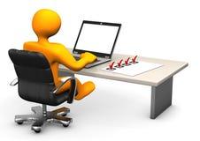 Applicerad Informatics stock illustrationer