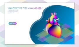 Applikationer för mobil för doktorsonline-läkarundersökningapp Vätska 3D för färg för lutning för Digital sjukvårdmedicin ljus vi Arkivfoton