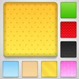 applikationknappar Royaltyfria Foton
