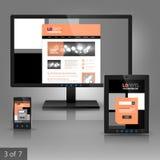Applikationmalldesign Royaltyfria Foton