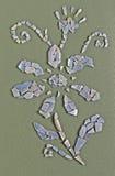 applique λουλούδι Στοκ Εικόνα
