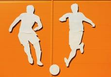 Applique σε ένα αθλητικό θέμα Στοκ Εικόνα