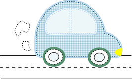 Applique car Royalty Free Stock Images