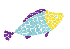 Applique of fish Royalty Free Stock Photos