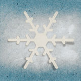 Applique snowflake Stock Photos