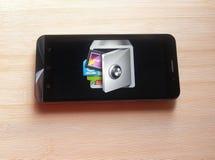 AppLock app στοκ εικόνες