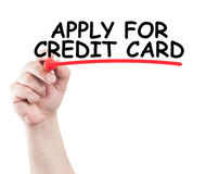 Apply for credit card