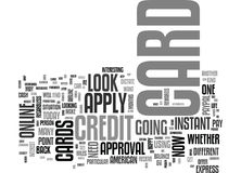 Apply Online For Student Loans Word Cloud Royalty Free Stock Photography