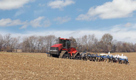 Applying Anhydrous Ammonia Stock Images