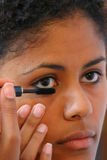Applying mascara II Royalty Free Stock Photos