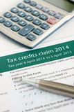 Applying for working tax credit Stock Photos
