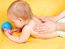 Appoggi il massaggio Immagine Stock Libera da Diritti