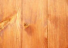 Appoggio delle plance di legno marroni Immagini Stock