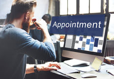 Appointment Activity Schedule Calendar Meeting Concept stock photos