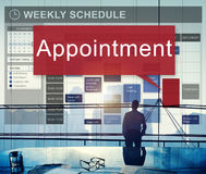 Appointment Activity Schedule Calendar Meeting Concept royalty free stock photo