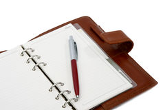 Appointment book Stock Images