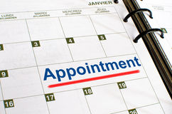 Appointment Stock Photo