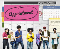 Appointment Planner Schedule Planning To Do List Concept. Appointment Planner Schedule Planning To Do List stock photos