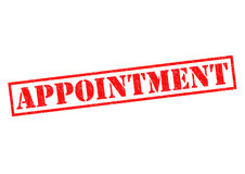 APPOINTMENT Stock Images