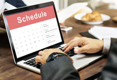 Appointment Schedule Calendar Event Meeting Concept Royalty Free Stock Photography
