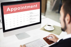 Appointment Schedule Calendar Event Meeting Concept Stock Images