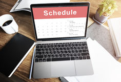 Appointment Schedule Calendar Event Meeting Concept Royalty Free Stock Photos