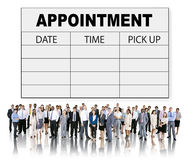 Appointment Schedule Memo Management Organizer Urgency Concept Royalty Free Stock Photography