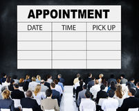 Appointment Schedule Memo Management Organizer Urgency Concept Royalty Free Stock Photos