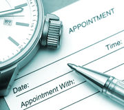 Appointment Time royalty free stock photos