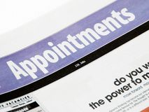 Appointments stock photos