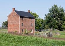 Appomattox County arrestbyggnad Fotografering för Bildbyråer
