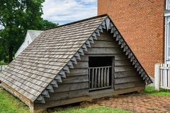 Mclean House – Ice House. Appomattox County, VA – June 3rd: Ice house next to the Mclean House the surrender site were on April 9th,1865 General Robert E Royalty Free Stock Photos